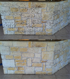 Granbury stone cleaning