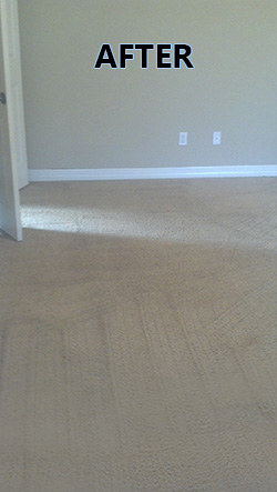 Granbury carpet cleaning super stained carpet after.